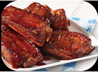 6. Pork Spare Ribs